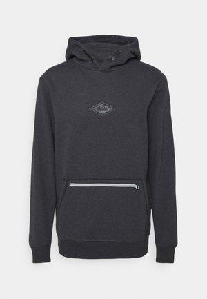 BIG LOGO TECH HOODIE - Sweatshirt - black heather