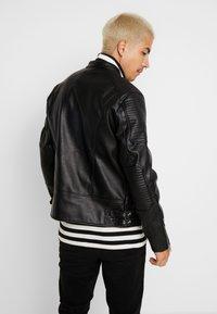 Jack & Jones - JCODERRICK  - Faux leather jacket - black - 2