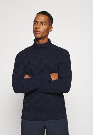 GABRIEL  - Stickad tröja - navy