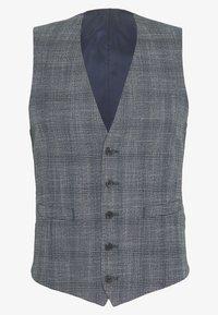 Isaac Dewhirst - BLUE CHECK 3PCS SUIT SUIT - Suit - blue - 3
