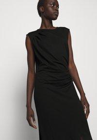 DESIGNERS REMIX - MODENA PLEAT DRESS - Shift dress - black - 3