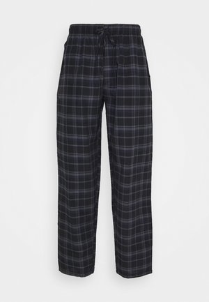Pyjama bottoms - black/blue
