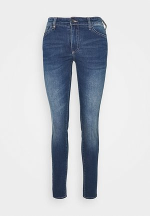 POCKETS PANT - Vaqueros pitillo - indigo denim