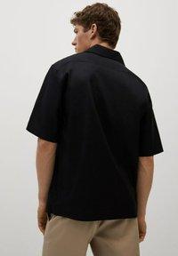 Mango - BOWLING - Shirt - black - 2