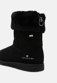 TOM TAILOR - Boots - black - 6