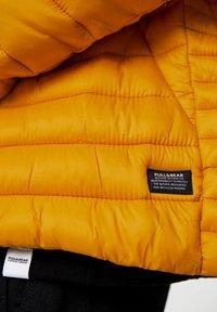 PULL&BEAR - Zimní bunda - yellow - 5