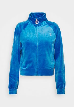TANYA TRACK - Zip-up sweatshirt - princess blue