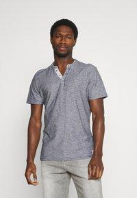 TOM TAILOR - T-shirt med print - dark blue - 0