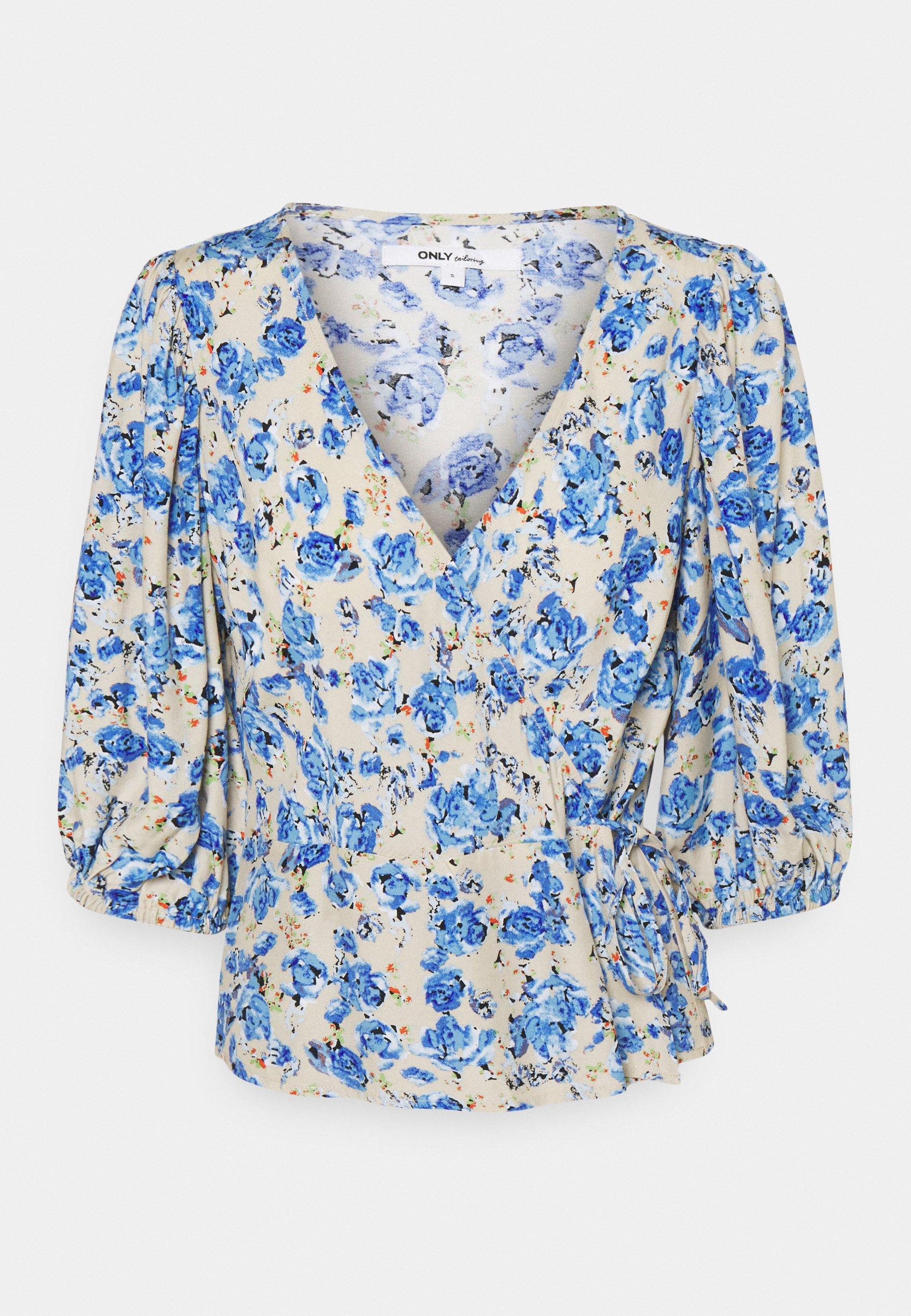 Women ONLPIO WRAP - Long sleeved top