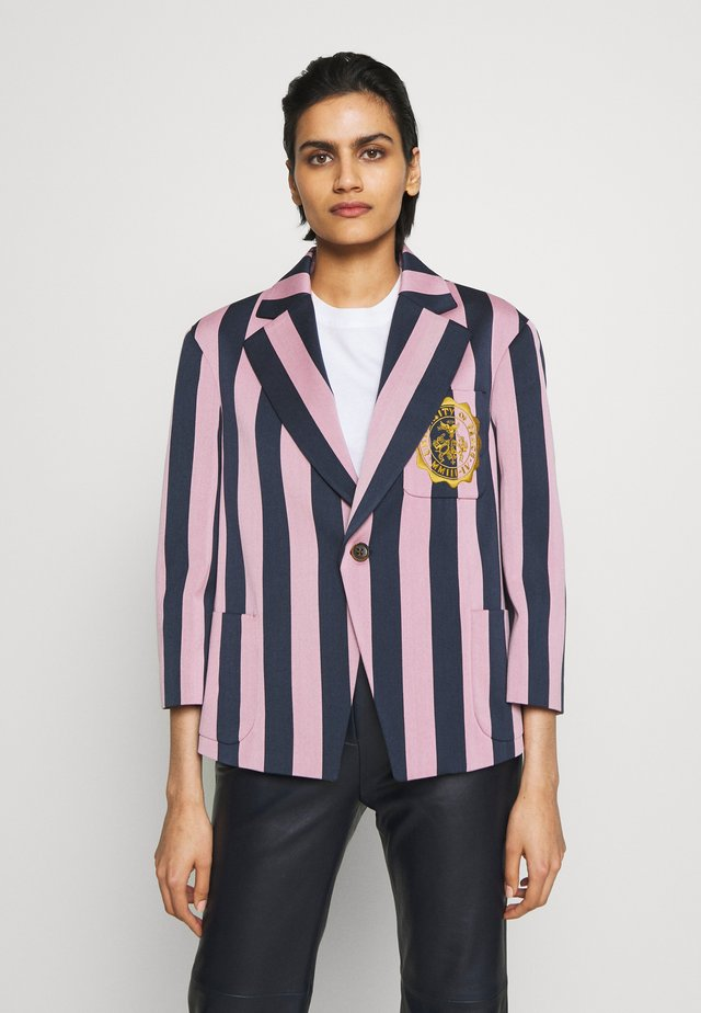 NEW PRINCE JACKET - Blazer - pink/blue