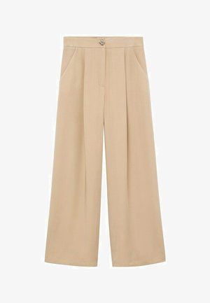 MOMO - Trousers - beige
