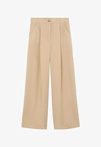 MOMO - Trousers - beige
