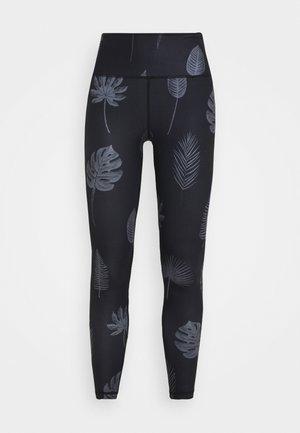 TIGHTS KAXHOLMEN TROPIC LEAVES - Leggings - Trousers - grey