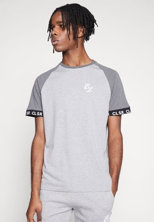 TWO TONE TEE - T-shirt med print - grey