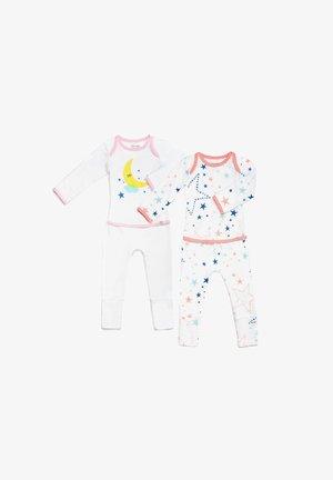 STARRY GAZE EASYWEAR - Pyjama - pink and white