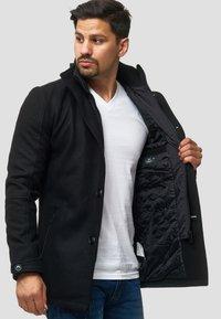 INDICODE JEANS - MÄNTEL BRITTANY - Light jacket - black - 4