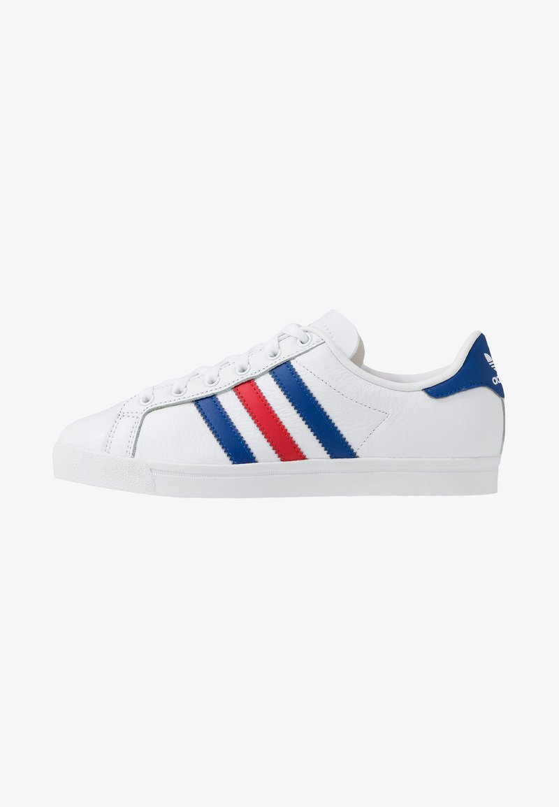 adidas Originals - COAST STAR - Sneakersy niskie - footwear white/collegiate royal/scarlet