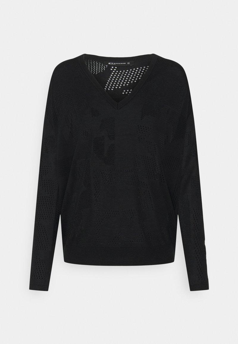 Expresso - BAUKE - Pullover - schwarz