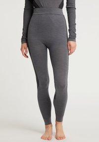 PYUA - Leggings - grey melange - 0