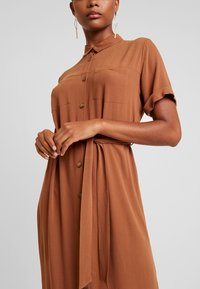 Envii - ENSILJAN DRESS - Shirt dress - toffee - 6