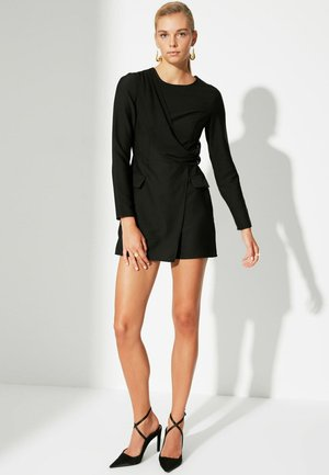TRENDYOL PARENT - Gebreide jurk - black