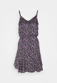 Pieces Petite - PCNYA SLIP BUTTON DRESS - Day dress - black - 1