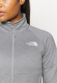 The North Face - ACTIVE TRAIL FULL ZIP JACKET - Veste polaire - light grey heather - 4