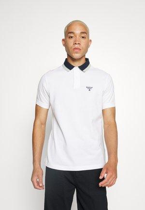 BANK TIPPED  - Poloskjorter - white