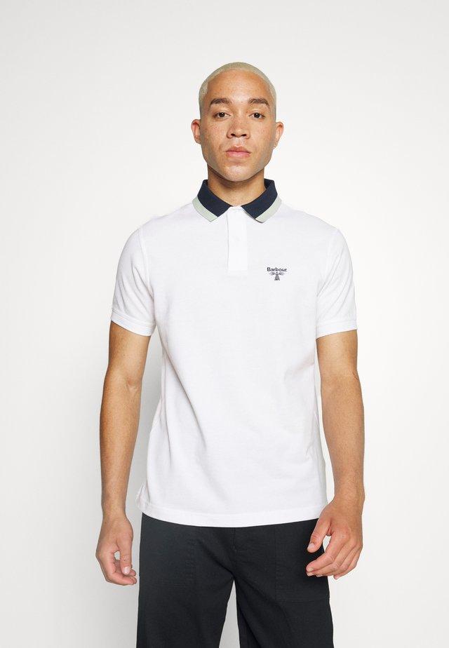 BANK TIPPED  - Polo shirt - white