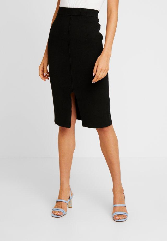 ARIA PENCIL SKIRT - Pencil skirt - black