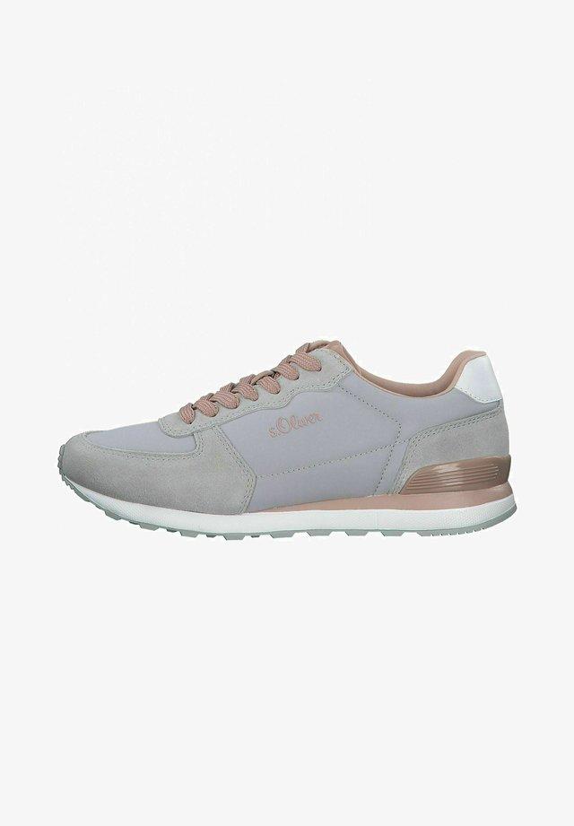 Sneakers laag - grey/ oldrose