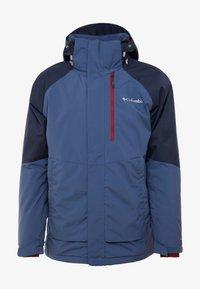Columbia - WILDSIDE JACKET - Ski jas - dark mountain/collegiate navy heather - 5