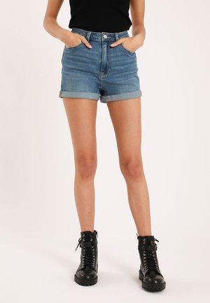 Shorts vaqueros - denimblau