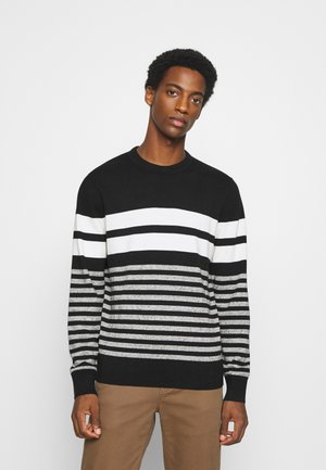 MAINSTAY CREW - Stickad tröja - black