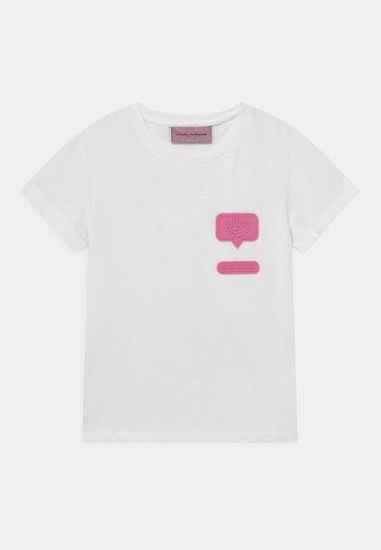 PATCH  - Print T-shirt - white