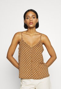 ONLY - ONLPELLA SINGLET - Topper - toasted coconut - 0