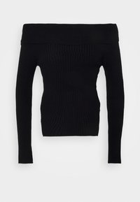Gina Tricot - OFELIA OFF SHOULDER - Jumper - black - 4