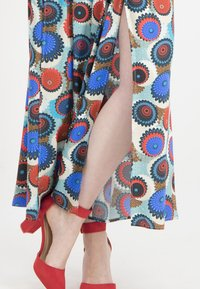 Nicowa - MIT GESCHLITZEM BEIN - Trousers - blue - 3