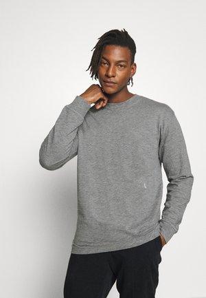 Long sleeved top - grey heather