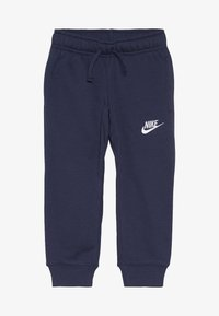 Nike Sportswear - CLUB CUFF PANT - Tracksuit bottoms - midnight navy