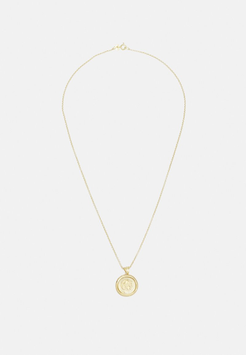 Hermina Athens - HERCULES PENDANT - Necklace - gold-coloured