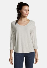 Betty & Co - Long sleeved top - nature melange - 0