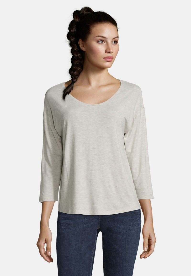 Betty & Co - Long sleeved top - nature melange