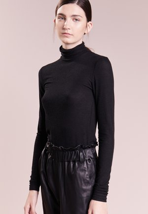 ANGELA ROCK NECK - Jumper - black