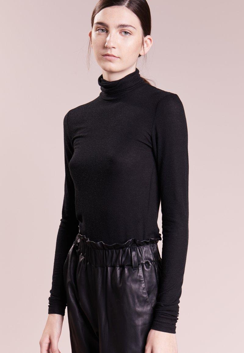 Bruuns Bazaar - ANGELA ROCK NECK - Svetr - black