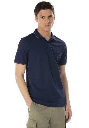 DOPPIO RIGO - Polo shirt - blu scuro