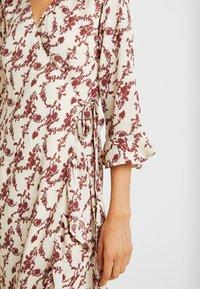 YAS - YASELLI 3/4 DRESS - Maxi dress - crème brûlée - 5