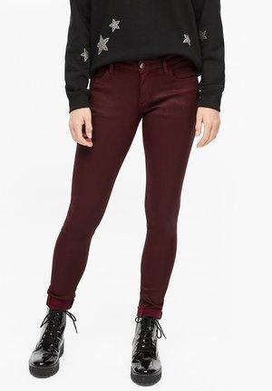 Jeans Skinny Fit - burgundy