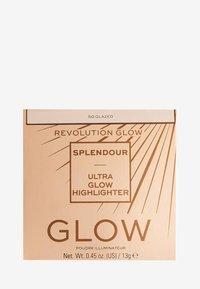 Makeup Revolution - REVOLUTION GLOW SPLENDOUR HIGHLIGHTER - Highlighter - so glazed - 3