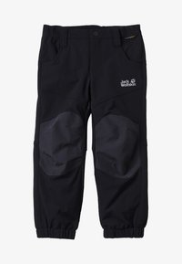 Jack Wolfskin - RASCAL WINTER PANTS KIDS - Kalhoty - black - 3